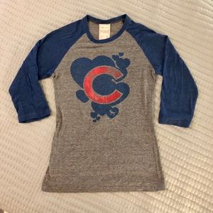 Victoria's Secret PINK Chicago Cubs tee medium